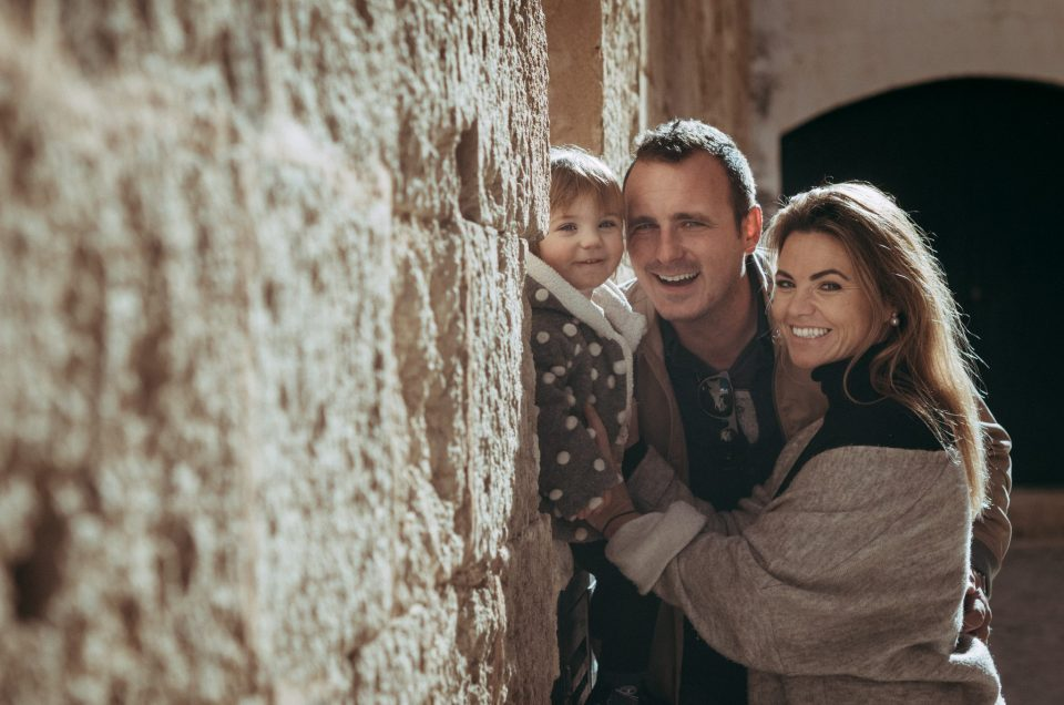 Sesión familiar en Ciutadella de Menorca