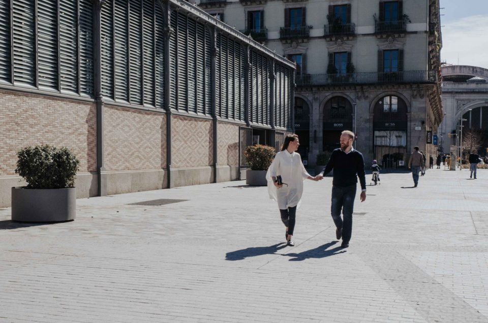 Kirsi & Alexi – Vacation photography in the Born and Gothic Quarters in Barcelona