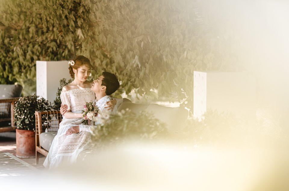 Wedding shoot in Torralbenc, Binibeca and Cavalleria lighthouse – Menorca