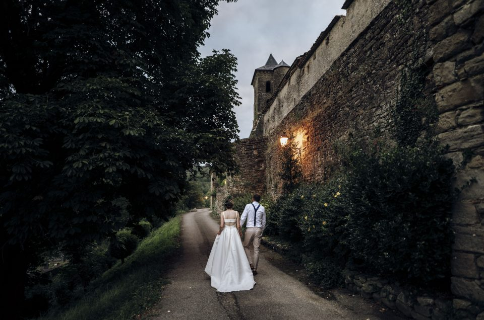 Wedding in South of France, Abbaye-Chateau de Camon