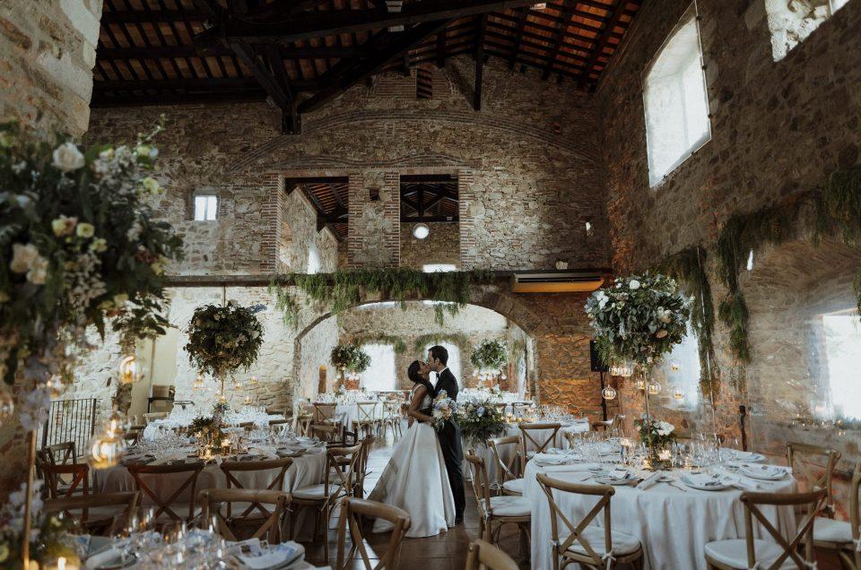 Wedding in Convent de Blanes, Costa Brava